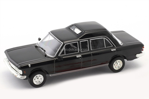 Fiat 130 popemobile black 1:43 DeAgostini Kultowe Auta PRL-u