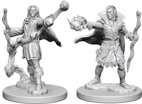 Pathfinder Deep Cuts Unpainted Miniatures - Elf Male Sorcerer