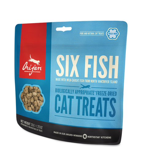 ORIJEN CAT Six Fish Treats лакомства