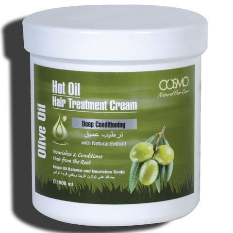 Крем для горячей обработки волос Оливковое масло