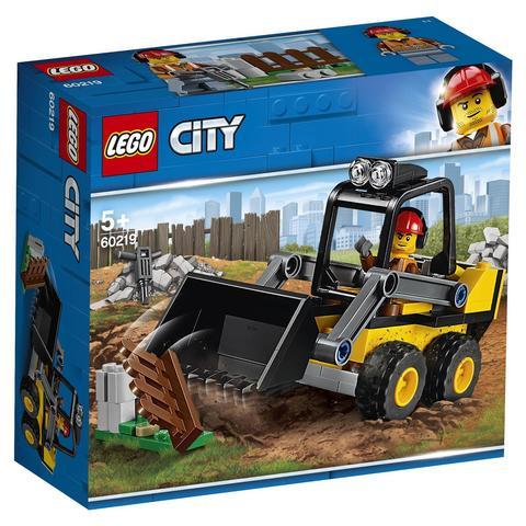 LEGO City: Строительный погрузчик 60219 — Construction Loader — Лего Сити Город
