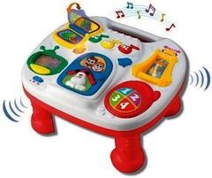 Keenway Музыкальный обучающий столик, красный  (32703)