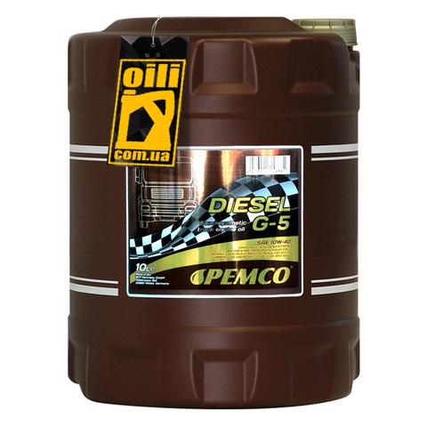 Pemco DIESEL G-5 UHPD 10W-40 10л