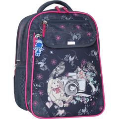 Рюкзак школьный Bagland Отличник 20 л. серый 210к (0058070)