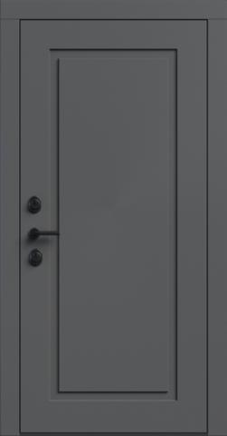 Входная дверь «NEO Classic 1» в цвете, Эмаль грэй