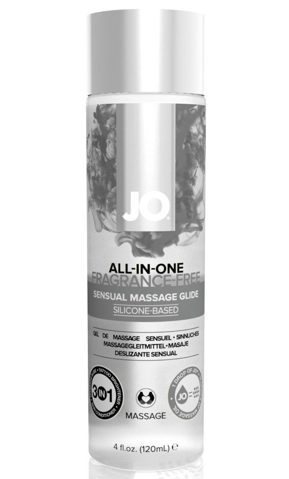 Массажные масла и свечи: Массажный гель ALL-IN-ONE Massage Oil Sensual нейтральный - 120 мл.