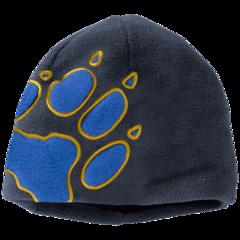 Шапка флисовая детская Jack Wolfskin Front Paw Hat Kids night blue
