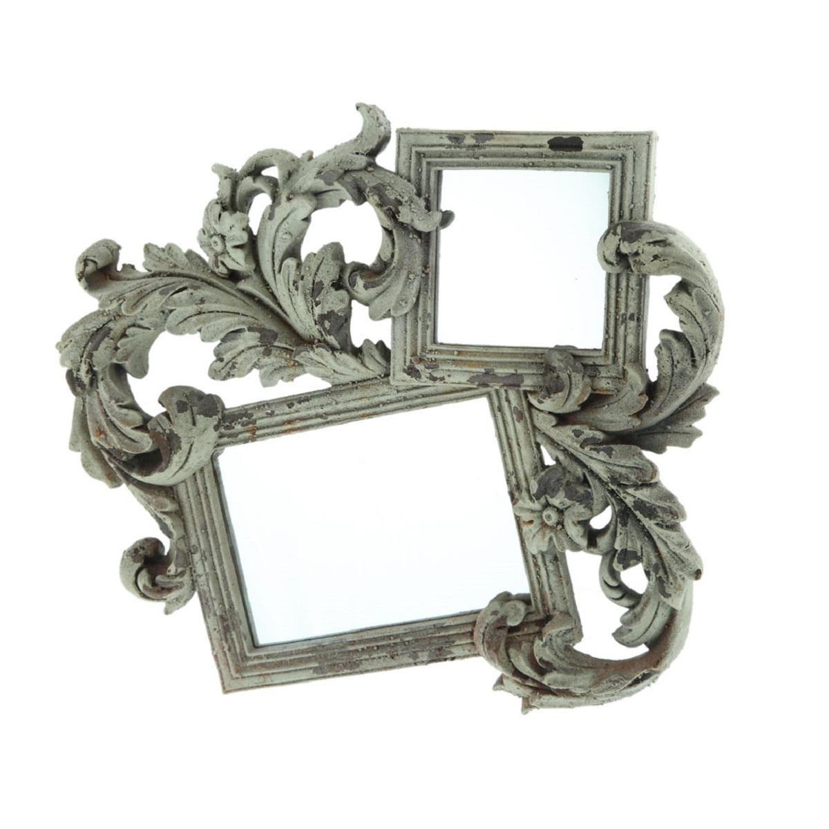 Зеркала Зеркало декоративное Decor двойное 78079AL zerkalo-dekorativnoe-decor-dvoynoe-78079al-kitay.jpg