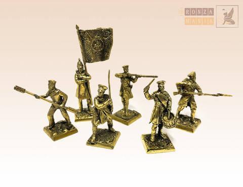 набор солдатиков Русская Императорская Армия - Крымская война (1854-1856)