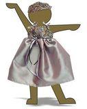 Платье вечернее - Демонстрационный образец. Одежда для кукол, пупсов и мягких игрушек.