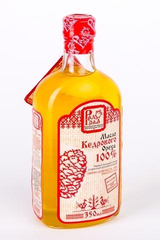 Масло Кедрового ореха100% 350мл. (Радоград)