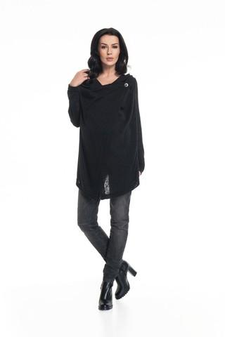 Блузка для беременных 00028 черный