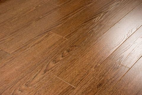 Ecoflooring Brush Wood Дуб шоколад 528