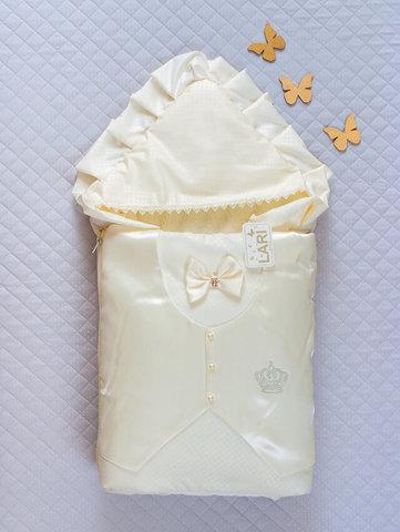 Зимний конверт одеяло Джентльмен (кремовый)