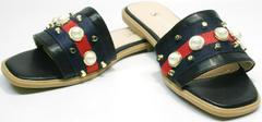 Шлепки сандали Seastar T330 black.