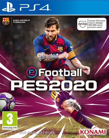 PS4 eFootball PES 2020 (русские субтитры)