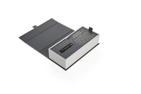 Ручка-5й пишущий узел Parker Ingenuity  Deluxe, Black Red PVD, FBlack123