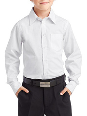 TH15 рубашка для мальчиков, белая