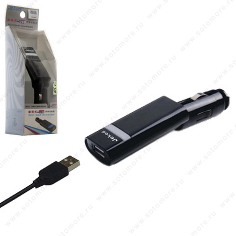Автомобильная зарядка Jekod K750 для Sony Ericsson широкий разъем
