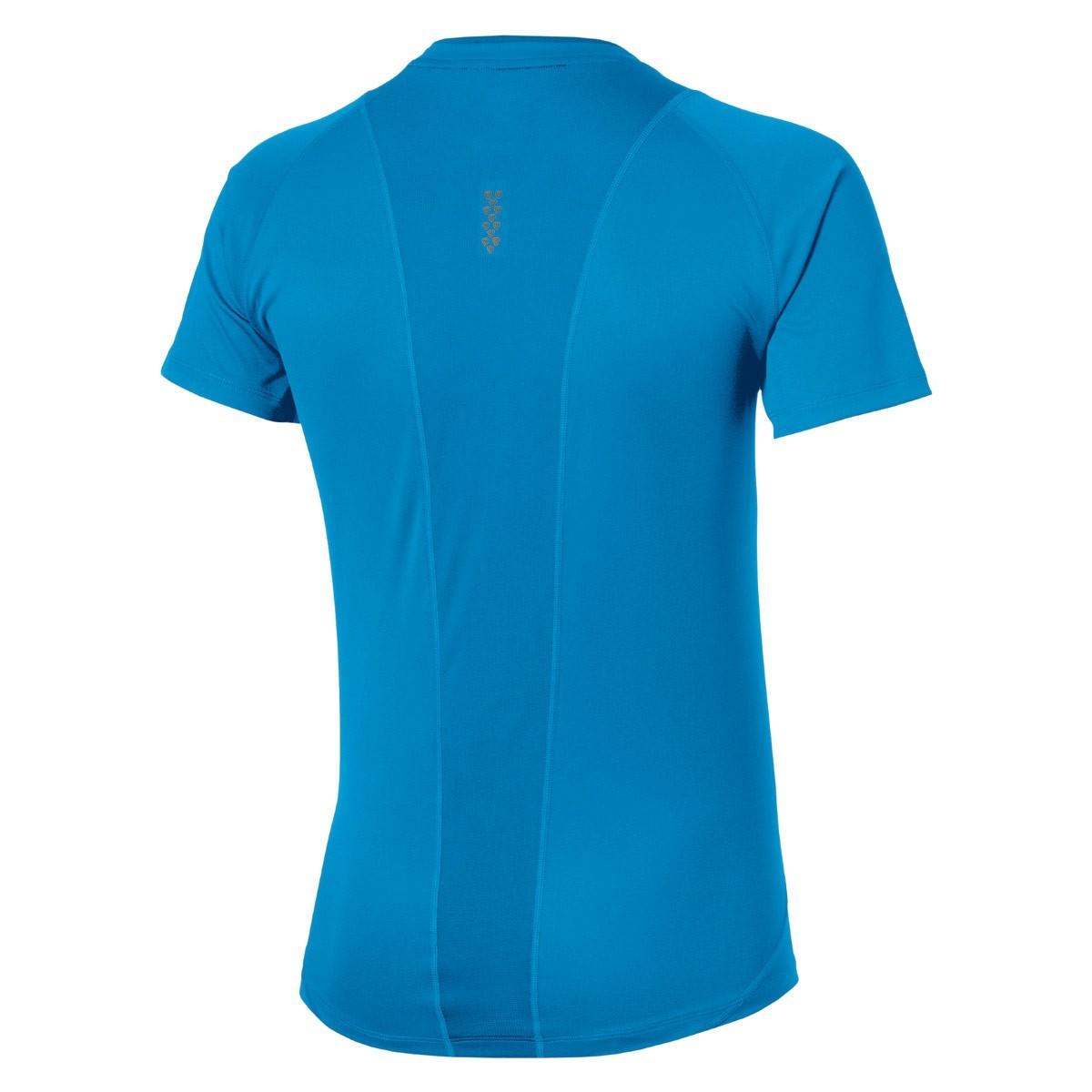 Мужская беговая  футболка Asics Stride SS Top (129916 0823) голубая фото