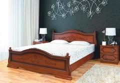Кровать из массива Карина-1 (900) орех