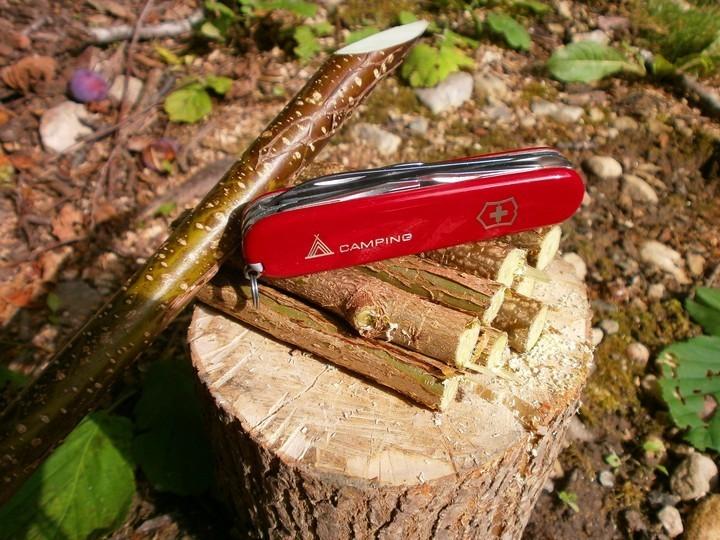 Складной нож Victorinox Camper с логотипом