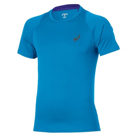 Asics Stride SS Top Мужская футболка для бега голубая