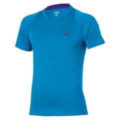 Мужска футболка для бега Asics Stride SS Top (129916 0823) голубая фото