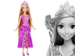 Рапунцель, Принцессы Диснея Модный стилист в магазине игрушек Магия кукол