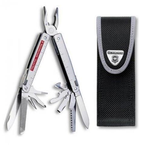 Мультитул Swiss Tool 3.0323.N с чехлом из нейлона