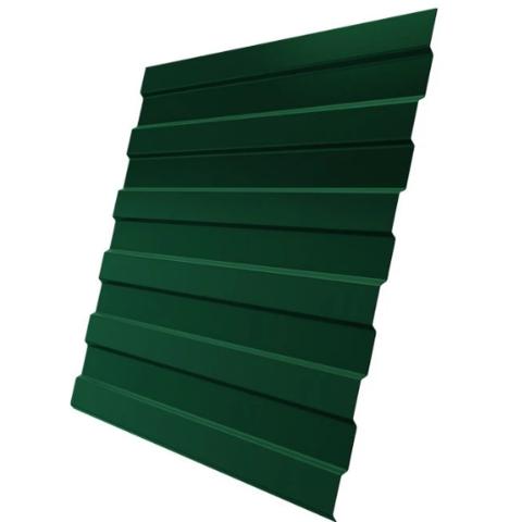 Профнастил С8х1220 мм RAL 6005 Зеленый мох двухсторонний