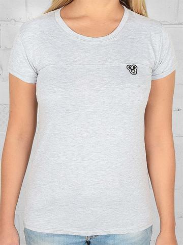 1609-13 футболка женская, серая
