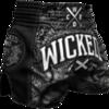 Шорты Wicked One Rude Black/White