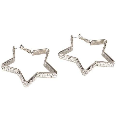 Серьги из кристаллов DIAMOND STAR