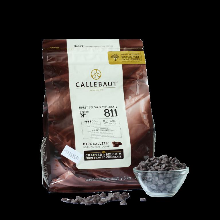 Тёмный шоколад Barry Callebaut 53,8%, Бельгия, 100г.