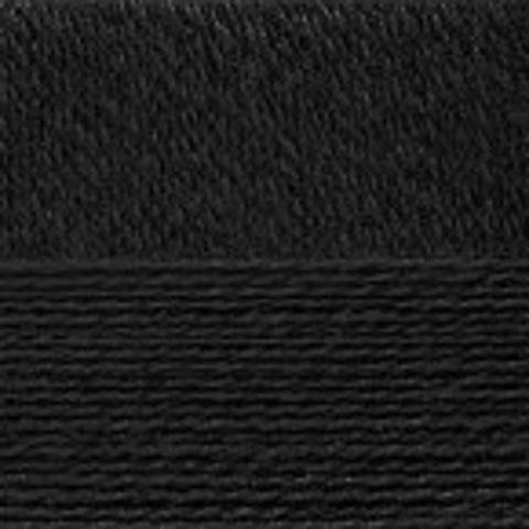 Пряжа Конопляная (Пехорка) Черный 02