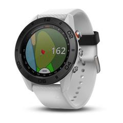Часы для гольфа Garmin Approach S60 белые с белым ремешком 010-01702-01