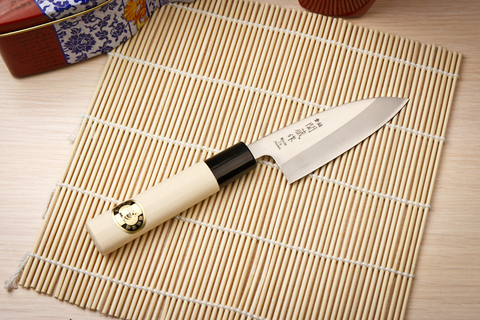 Кухонный нож Mini Deba 8110-A