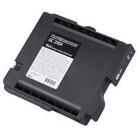 LE Картридж Ricoh для гелевого принтера GC31KH черный для Aficio GXe5550N/7700N. Ресурс 4230 стр. (405701)