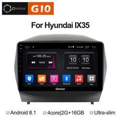 Штатная магнитола на Android 8.1 для Hyundai ix35 Ownice G10 S1702E
