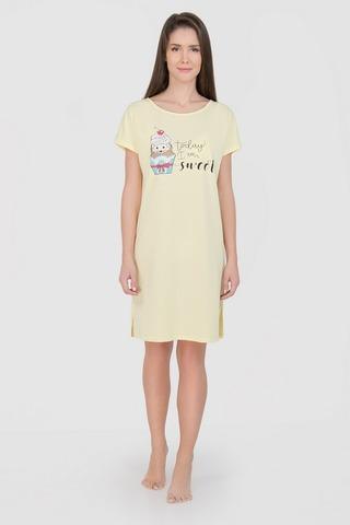LS2377 Сорочка ночная женская