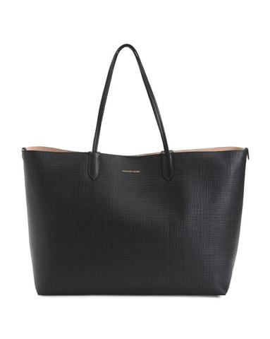 ALEXANDER MCQUEEN Large Leather Shopper