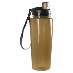 Mil-Tec Trinkflasche transparent coyote
