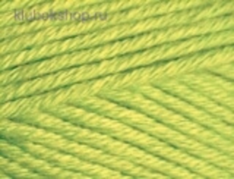 Cotton gold PLUS 612 Зеленый неон Alize - фото