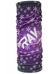 Баф Ray Flag RF Big Snowflake Violet  Print