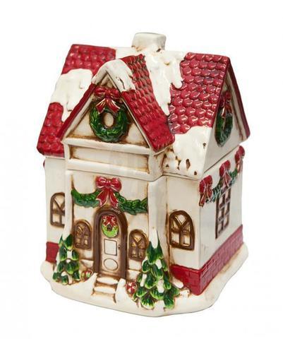 Банка для печенья Дом (белый)