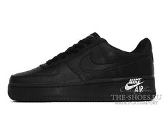Кроссовки Nike Air Force 1'07 Low LTHR Black
