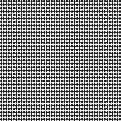 Ромбы черно-белые