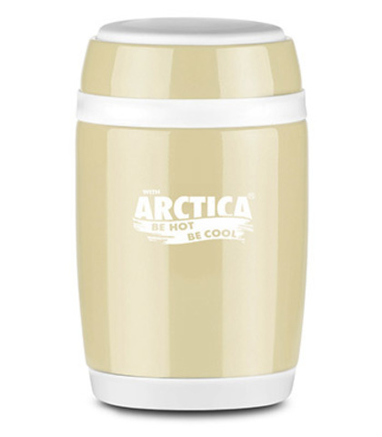 Термос-бочонок «Арктика», цвет топленое молоко 580 мл