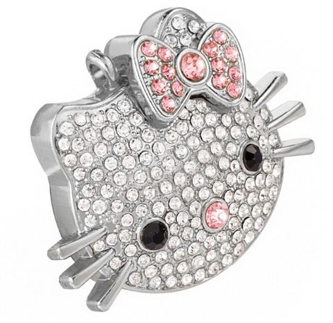 USB-флешка Hello Kitty со стразами